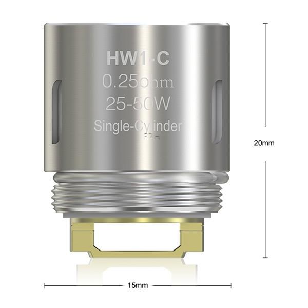5x Eleaf HW1-C Coil 0,25 Ohm