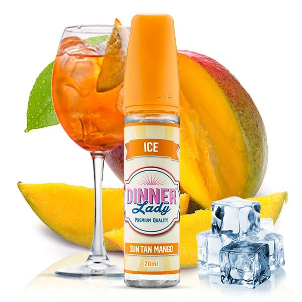 DINNER LADY ICE Sun Tan Mango Aroma 20ml