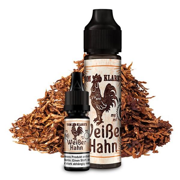 TOM KLARK'S Der Weiße Hahn Premium Liquid 60 ml 3mg