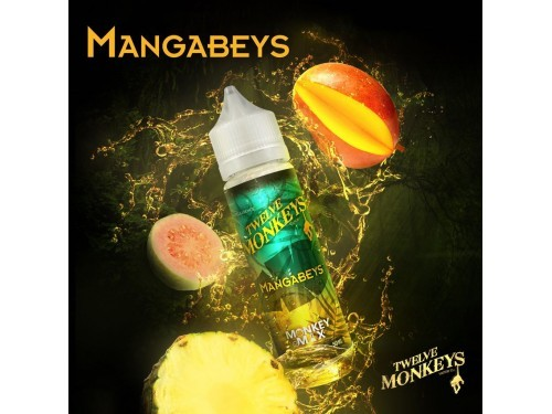 Twelve Monkeys - Mangabeys Plus Liquid 50ml