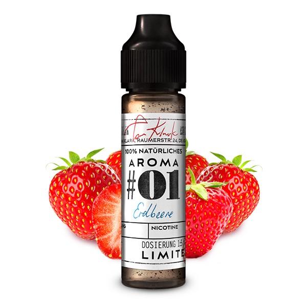 TOM KLARK'S Natürliche Aromen No.01 Erdbeere Aroma 10ml