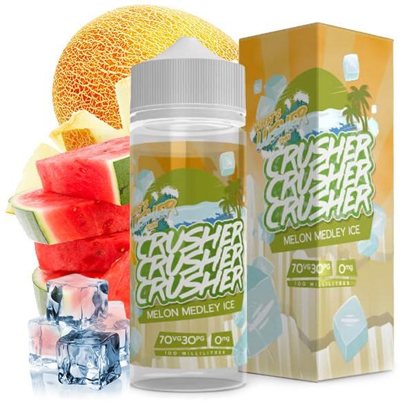 CRUSHER Melon Medley Ice UK Premium Liquid 100ml