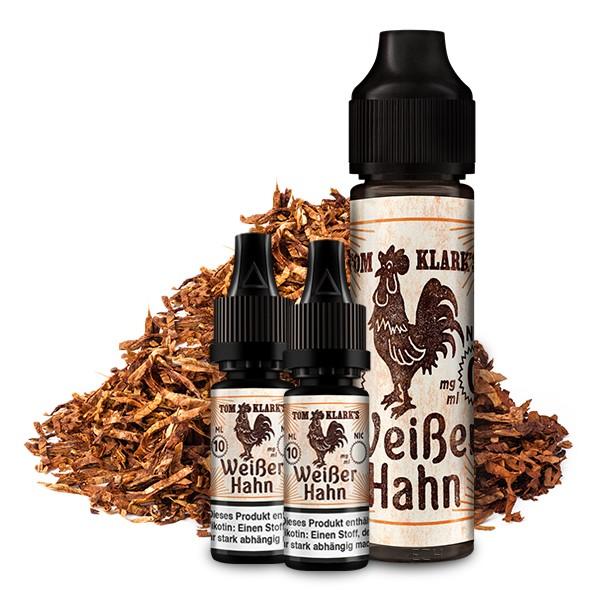 TOM KLARK'S Der Weiße Hahn Premium Liquid 60 ml 6mg