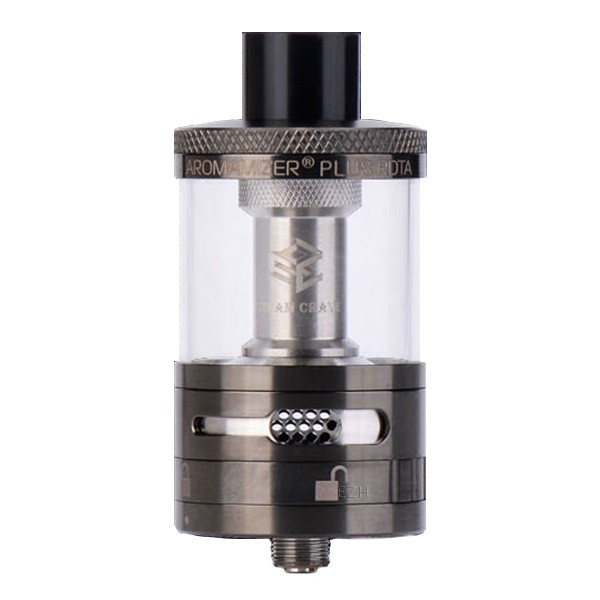 Steam Crave Aromamizer Plus RDTA Selbstwickler Tank Bundle gunmetal