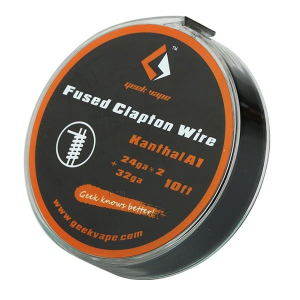 GeekVape 3 Meter Kanthal A1 Fused Clapton Wire 24GA x 2 + 32GA