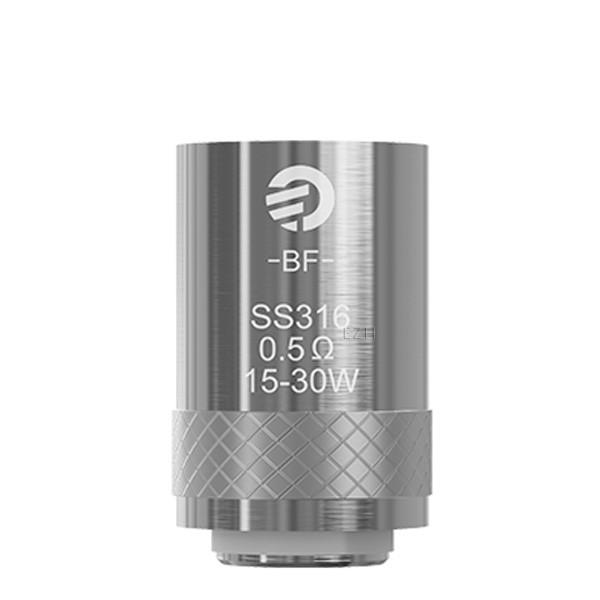 5x JOYETECH BF SS316 Coil Verdampferkopf 0,5 Ohm
