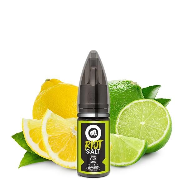 RIOT SQUAD Sub Lime Nikotinsalz Liquid 10ml 10mg