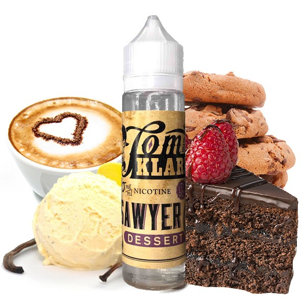 TOM KLARK'S TOM SAWYER Dessert Premium Liquid 60ml 0mg