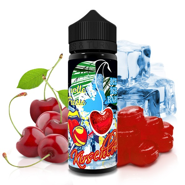 LÄDLA JUICE Volle Fresse Kirschlolliii on Ice Aroma 20ml
