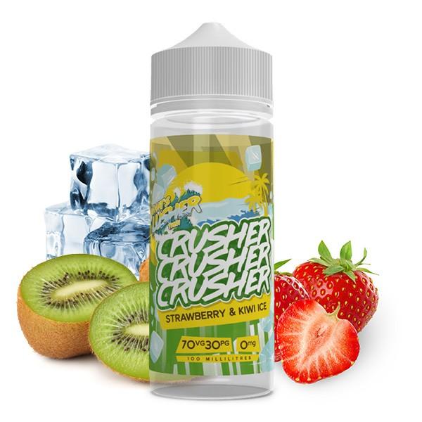 CRUSHER Strawberry Kiwi Ice UK Premium Liquid 100ml
