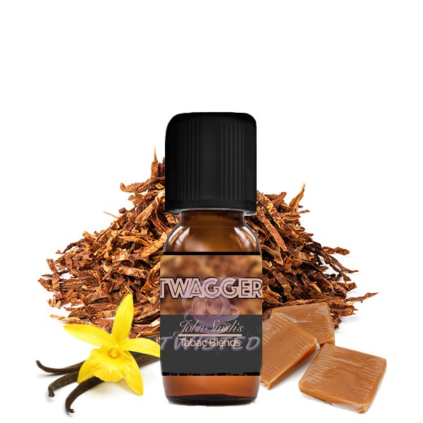 TWISTED JOHN SMITH'S BLENDED TOBACCO FLAVOR Twagger Aroma 10ml