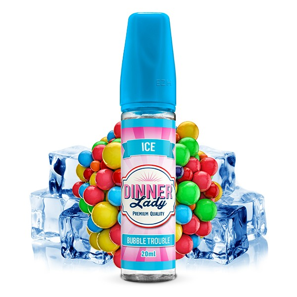 DINNER LADY Sweets Ice Bubble Trouble Aroma 20ml