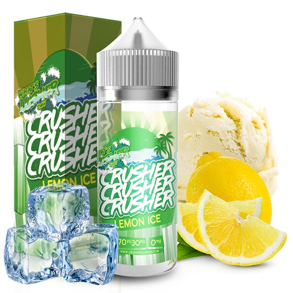 CRUSHER Lemon Ice UK Premium Liquid 100ml
