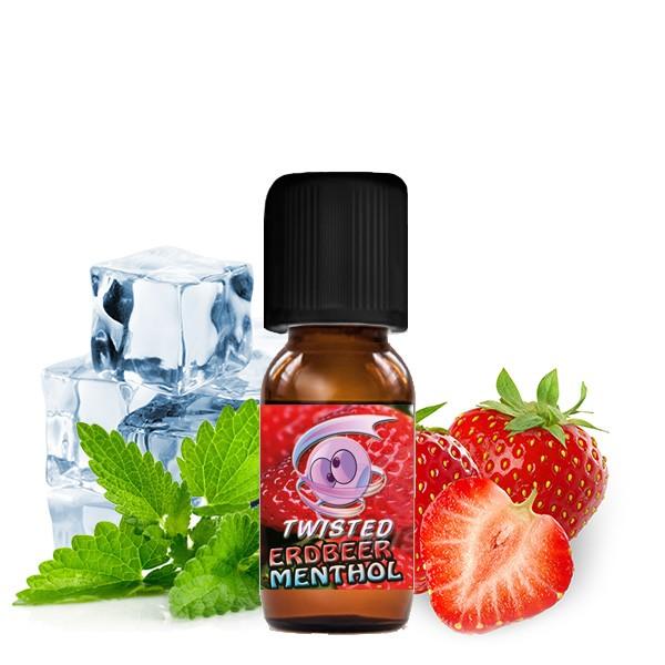 TWISTED Erdbeer Menthol 10ml Aroma